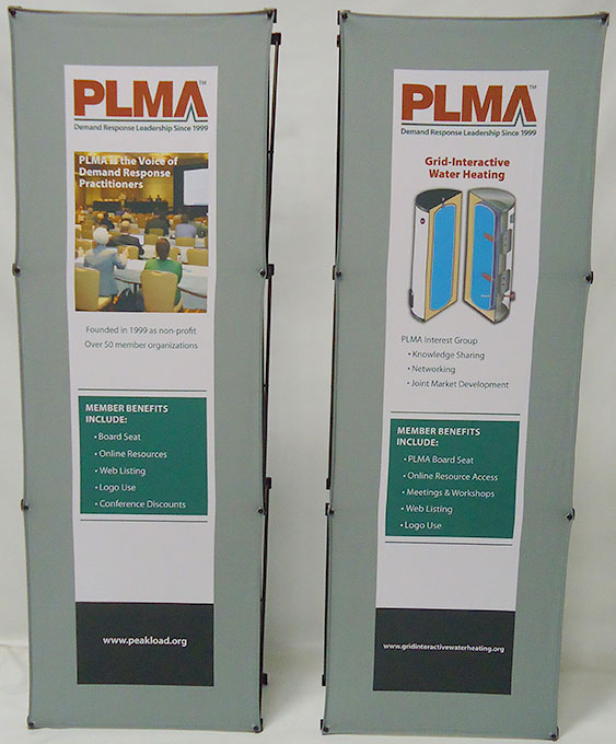PLMA Conference Trade Show Booth Banners