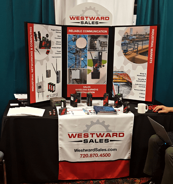 Westward Sales Graphic Design Trade Show Booth
