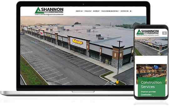 Construction Industry Web Design